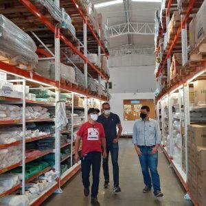Visita a distripack cliente do Grupo SA