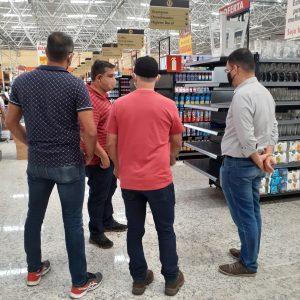 Visita ao EPA cliente Grupo SA