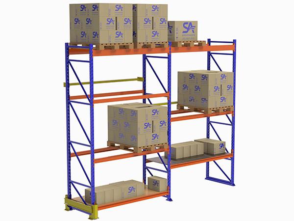 Soluções de armazenagem: Porta-pallets